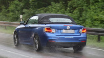 BMW 2-Series Convertible spy photo
