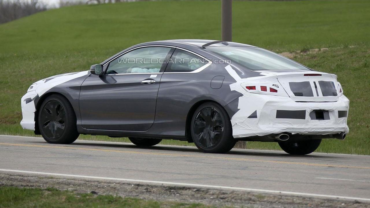 2016 Honda Accord Coupe spy photo