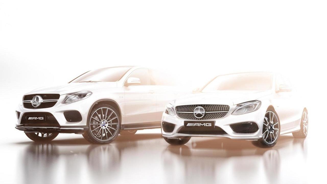 Mercedes-Benz AMG Sport lineup