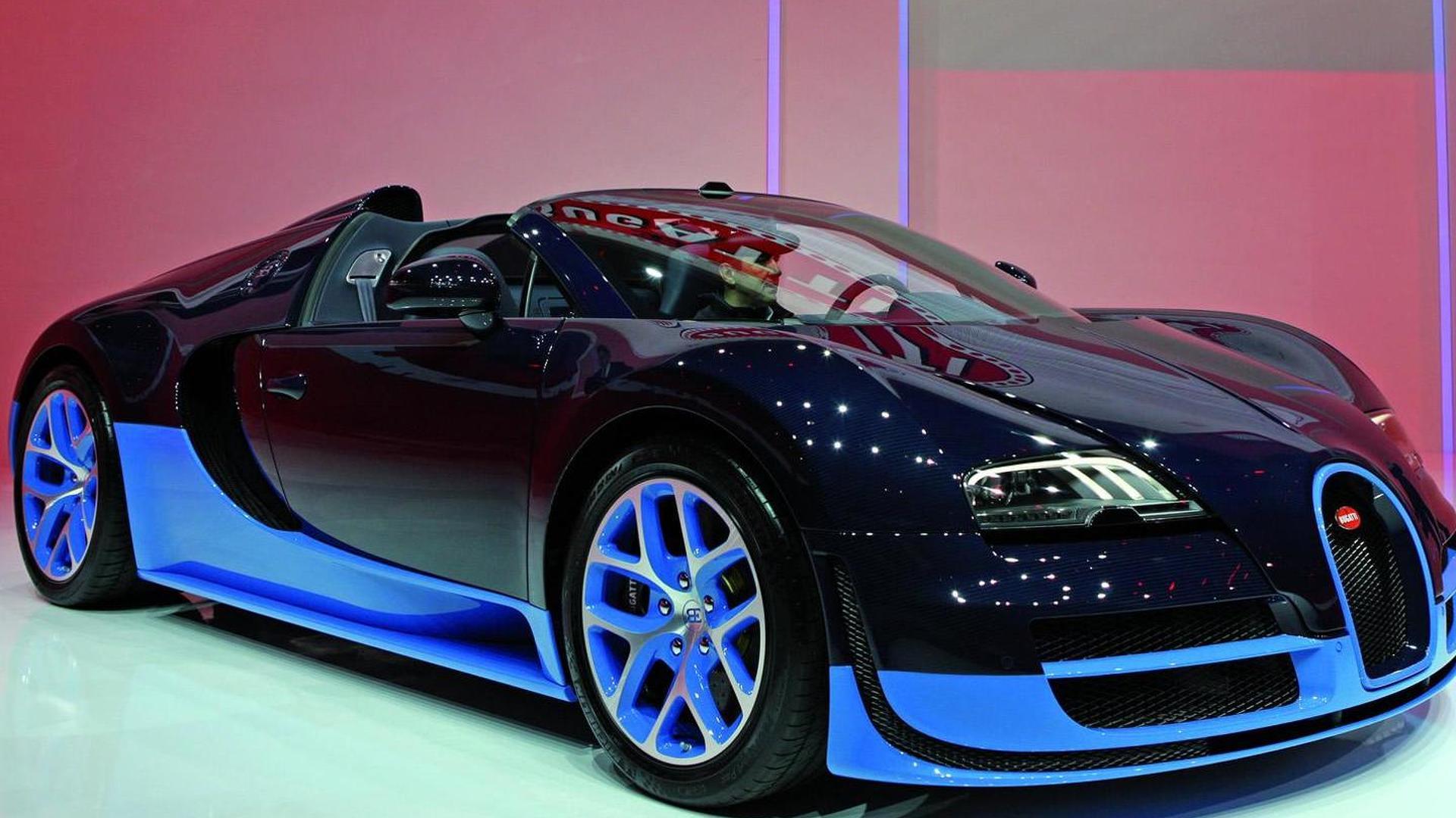 bugatti veyron grand sport vitesse takes a bow. Black Bedroom Furniture Sets. Home Design Ideas