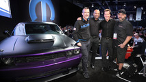 Dodge Challenger SRT8 Project UltraViolet unveiled with new crate engine