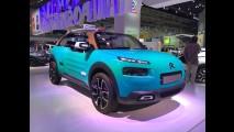 Frankfurt: sem teto, Citroën Cactus M é ousado e perfeito para o lazer