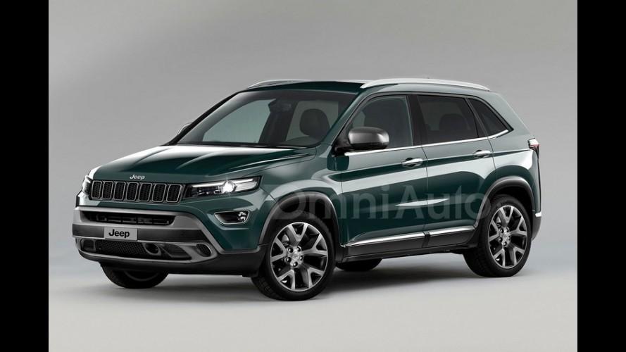 Próximo Jeep brasileiro, novo Compass aparece em projeção