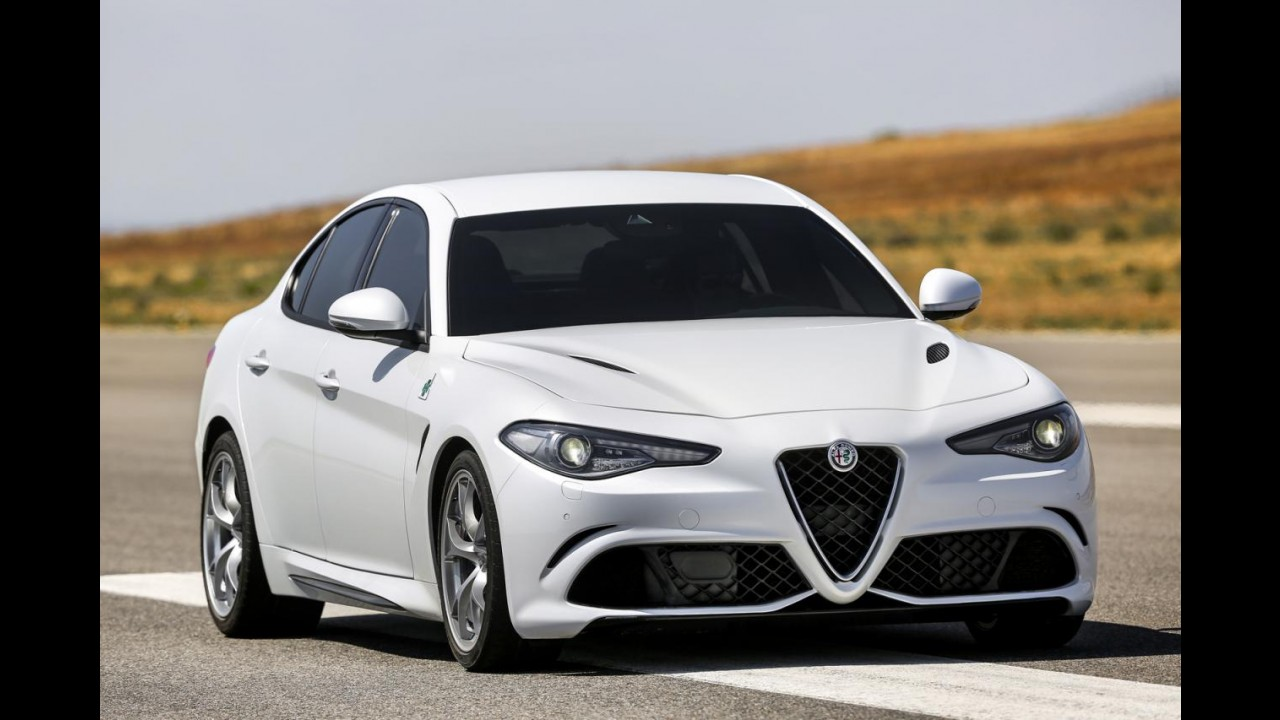 Alfa Romeo Giulia tem a gama de motores completa revelada