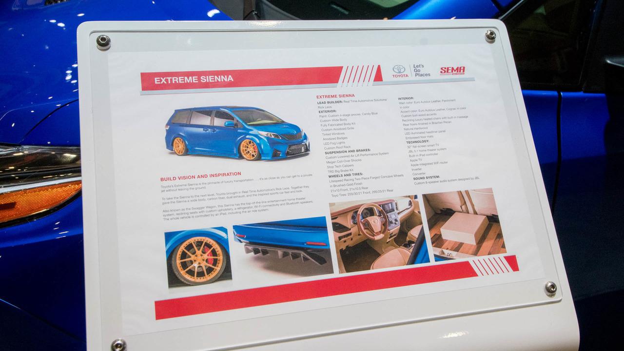 Toyota Extreme Sienna - SEMA 2016