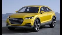 Audi planeja crossover de duas portas abaixo do Q1