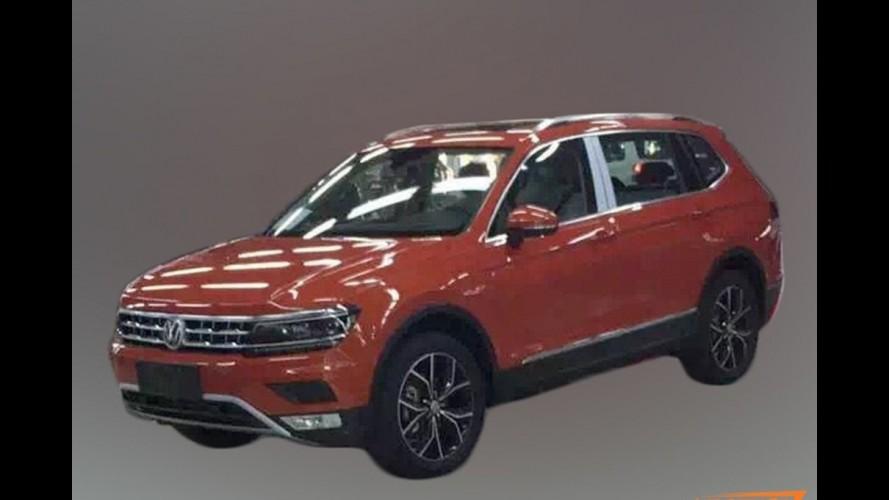 Flagra: Volkswagen Tiguan de 7 lugares é pego sem disfarces pela 1ª vez