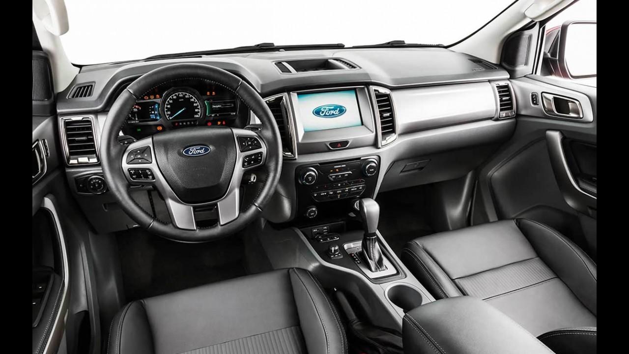 Volta Rápida: Tecnológica, nova Ford Ranger tem conjunto para bater a Hilux