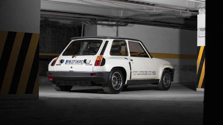 Bu Renault 5 Turbo II yeni gibi