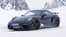 2019 Porsche Cayman GT4 spy photo