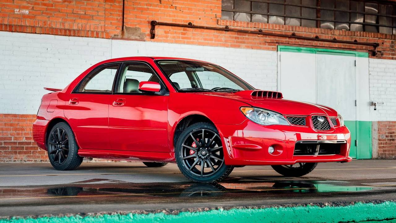 Baby Driver Impreza at Mecum Houston 2018