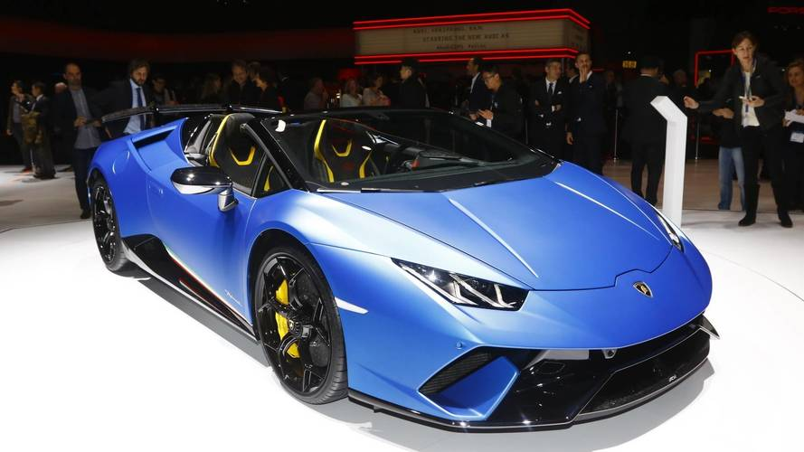 The Only Thing Soft About The Huracan Performante Spyder Is Its Top