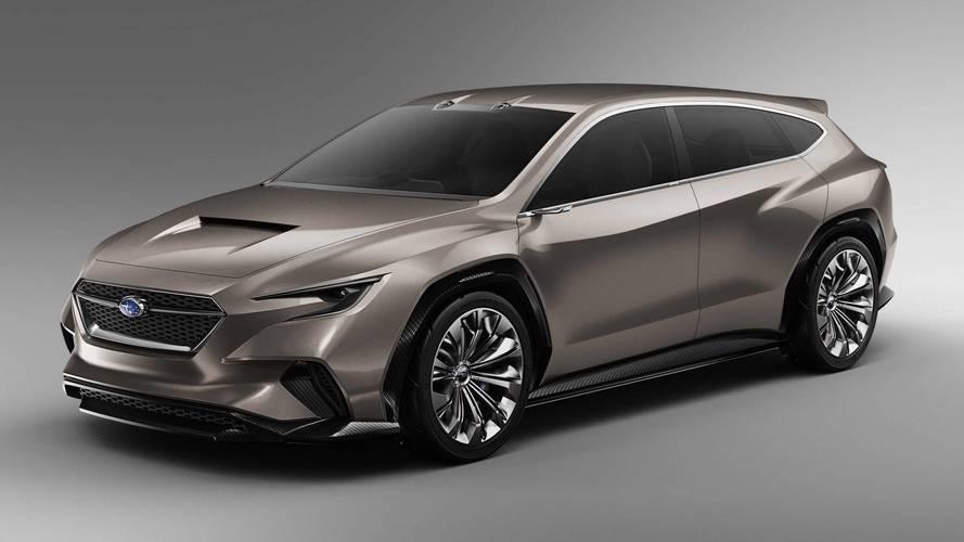 Genève 2018 - Subaru présente le concept Viziv Tourer