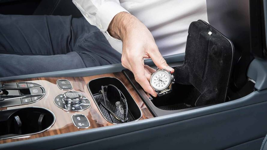 Bentley Bentayga lecteur d'empreinte digitale