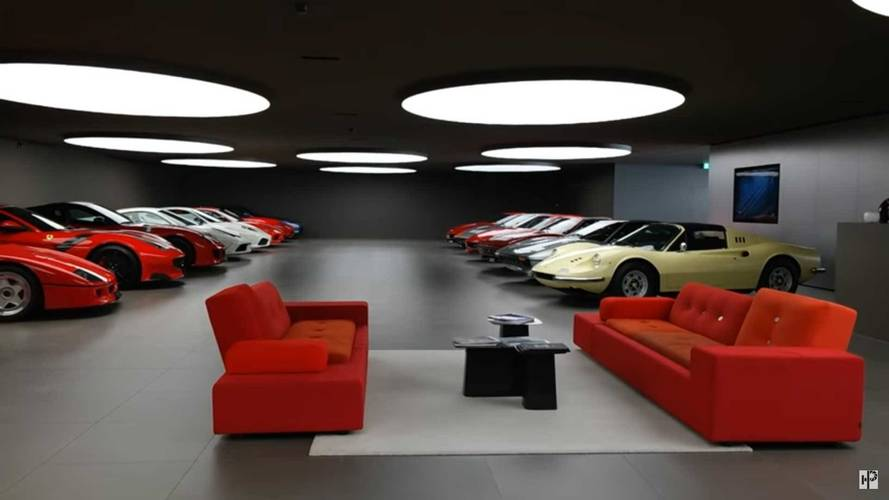 Private Ferrari Collection in Switzerland