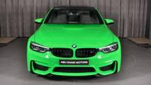 Verde Mantis Green BMW M3