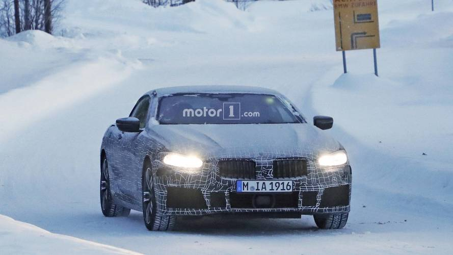 BMW 8 Series Convertible new spy photos