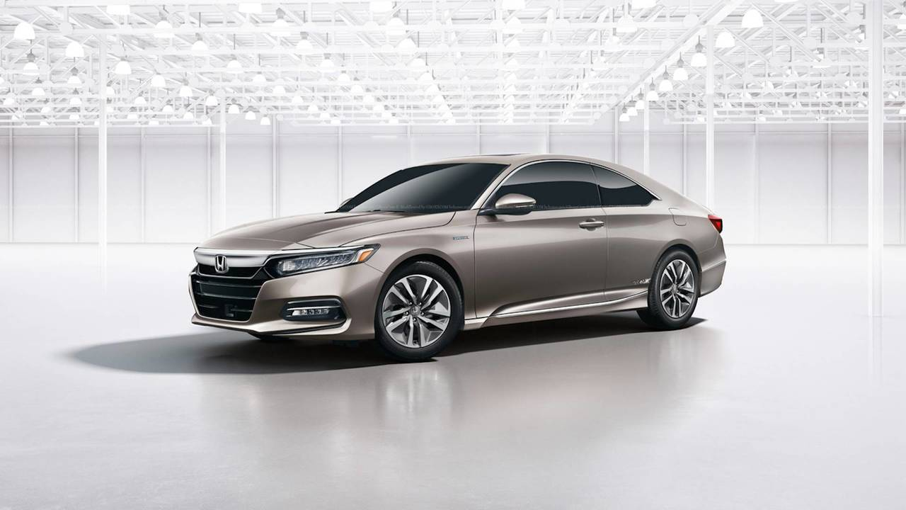 2018 Honda Accord Coupe Render