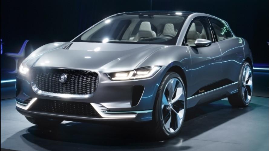 Jaguar I-Pace Concept, le prime impressioni dal vivo