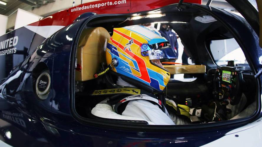 """Alonso """"Out Of My Comfort Zone"""" In Daytona 24 Hours"""