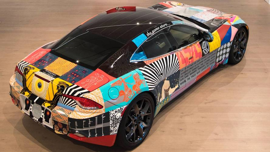 Karma Revero Art Car par James Verbicky