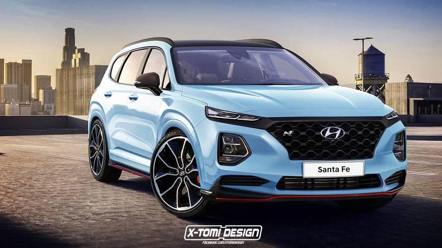N-változatban is remekül mutat a következő-generációs Hyundai Santa Fe