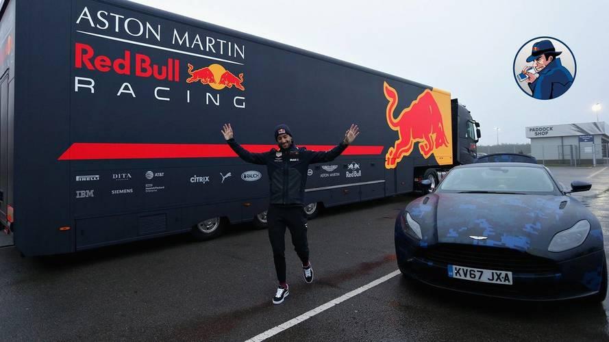 Az F1 jelenleg legmenőbb cégautóját kapta Daniel Ricciardo