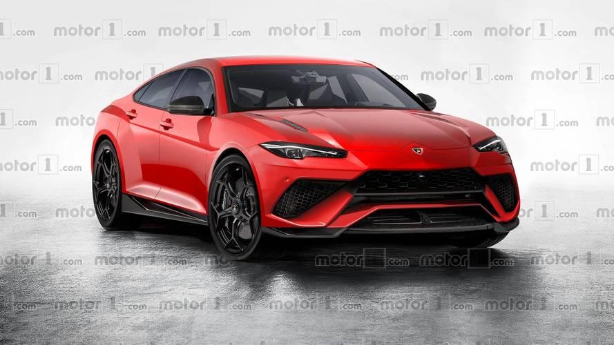 Et si la berline Lamborghini ressemblait à ça ?