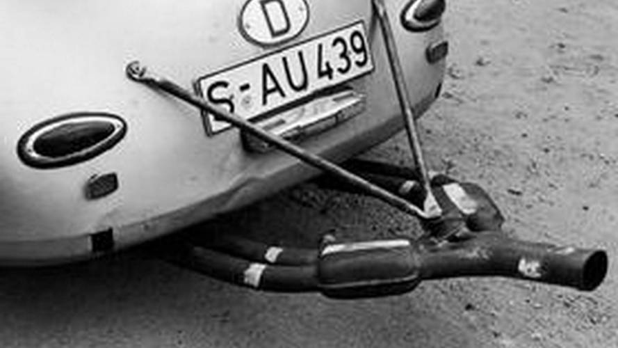 Porsche 356 custom exhaust