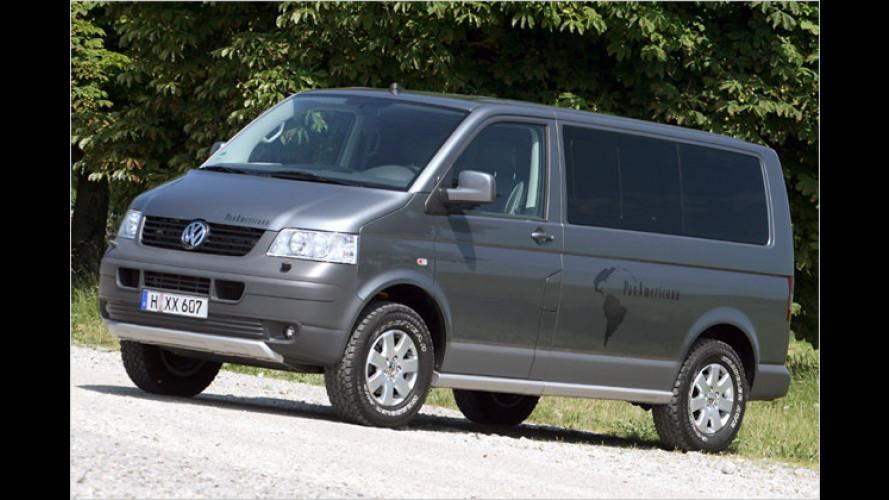Durch dick und dünn: VW Multivan PanAmericana im Test
