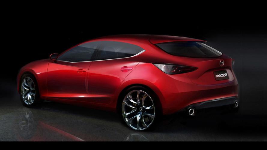 Mazda3 Rendering