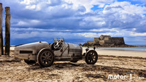 1925 - Bugatti Type 35 à Saint-Malo, France