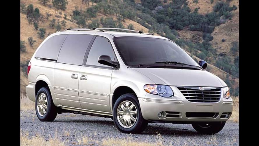 Chrysler Voyager 2004: Im Handumdrehen mehr Stauraum