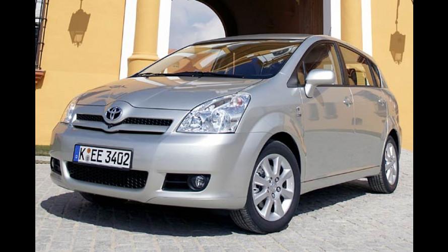 Toyota Corolla Verso mit Easy7-Sitzen: Willkommen im Klapp