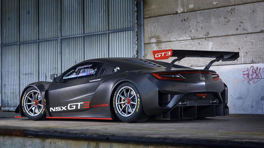 Voici la GT3 — Honda NSX