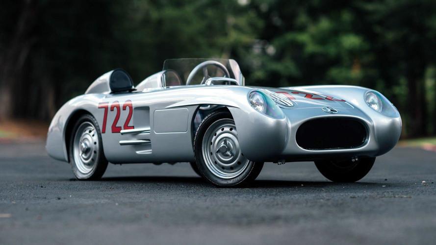 1955 Mercedes-Benz 300SLR Go Kart Replica