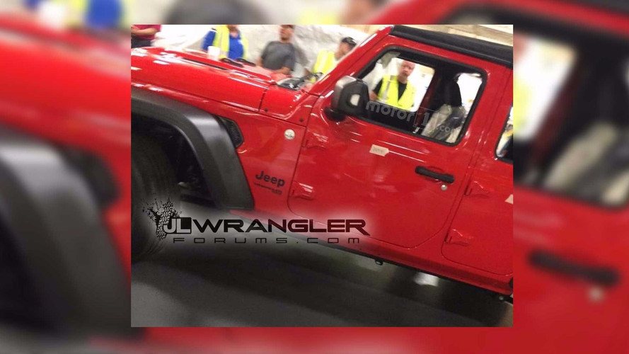 Next-Generation Jeep Wrangler Caught Completely Exposed
