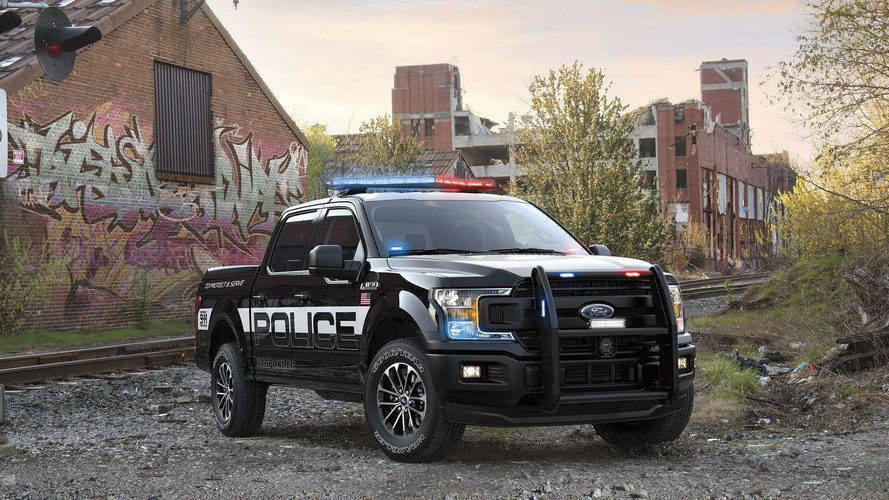 Ford's F-150 police pickup packs 375 hp