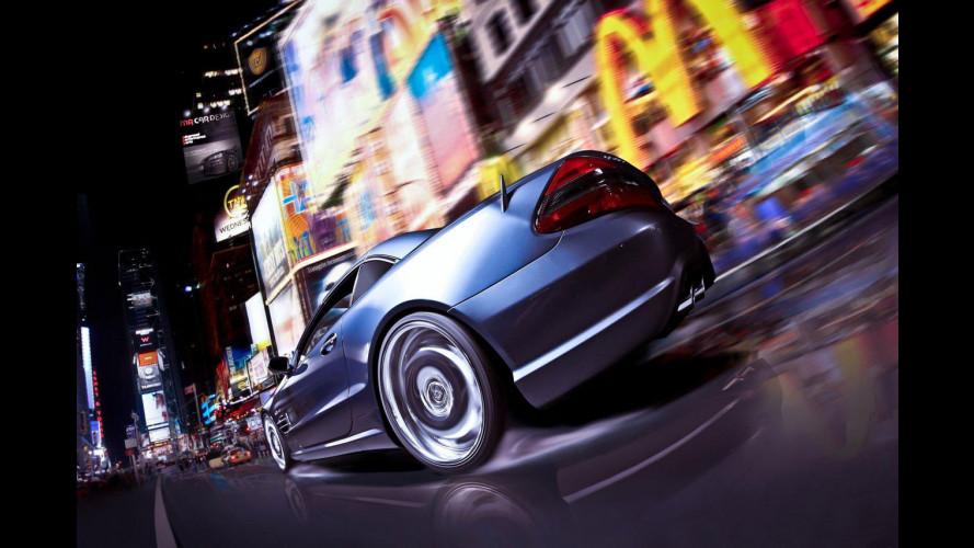 Mercedes SL 65 AMG MR Car Design