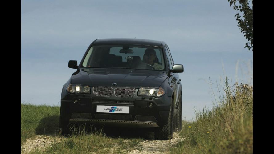 BMW X3 secondo Hartge
