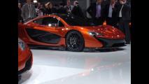 McLaren P1, live dal Salone di Parigi 2012