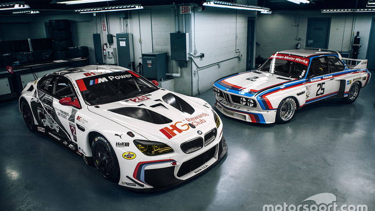 100th anniversary BMW M6 GTLM