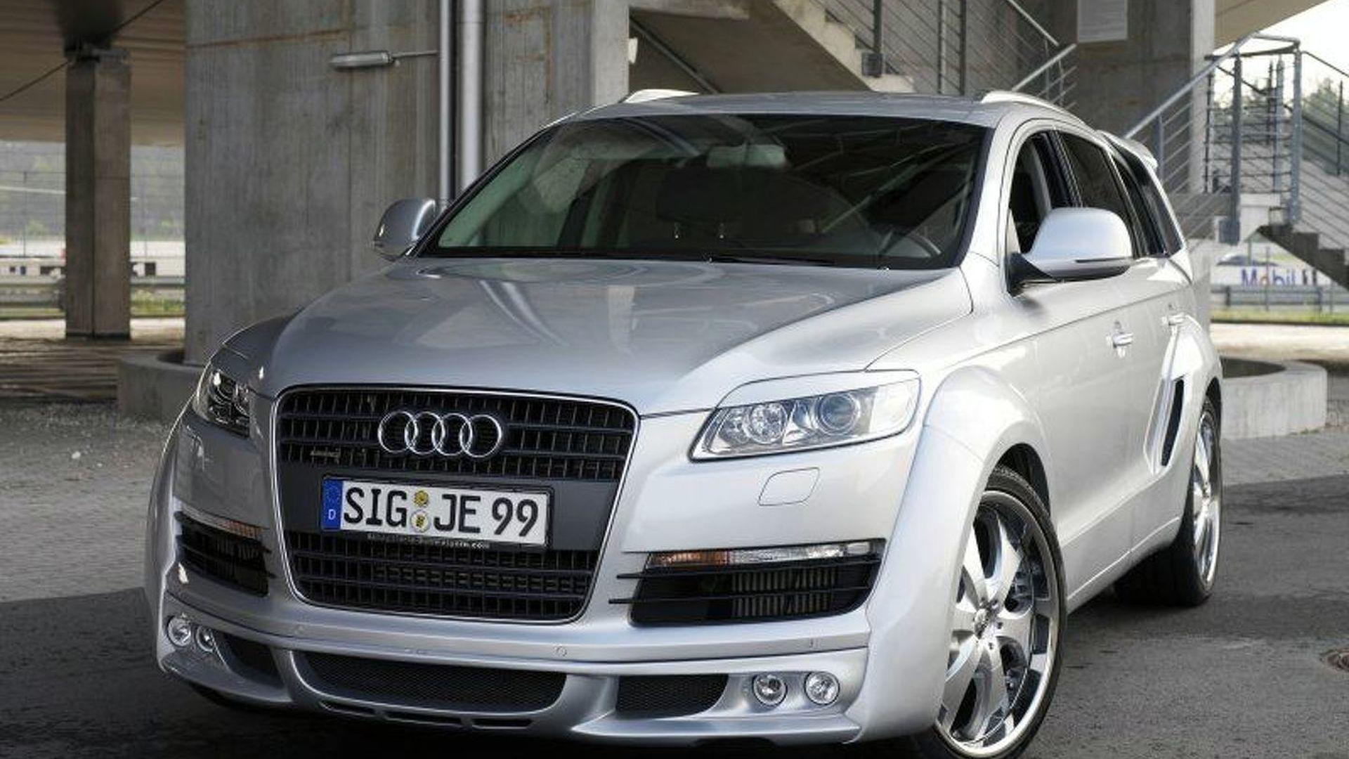 WCF Test Drive JE Design Q Widebody - Audi test drive
