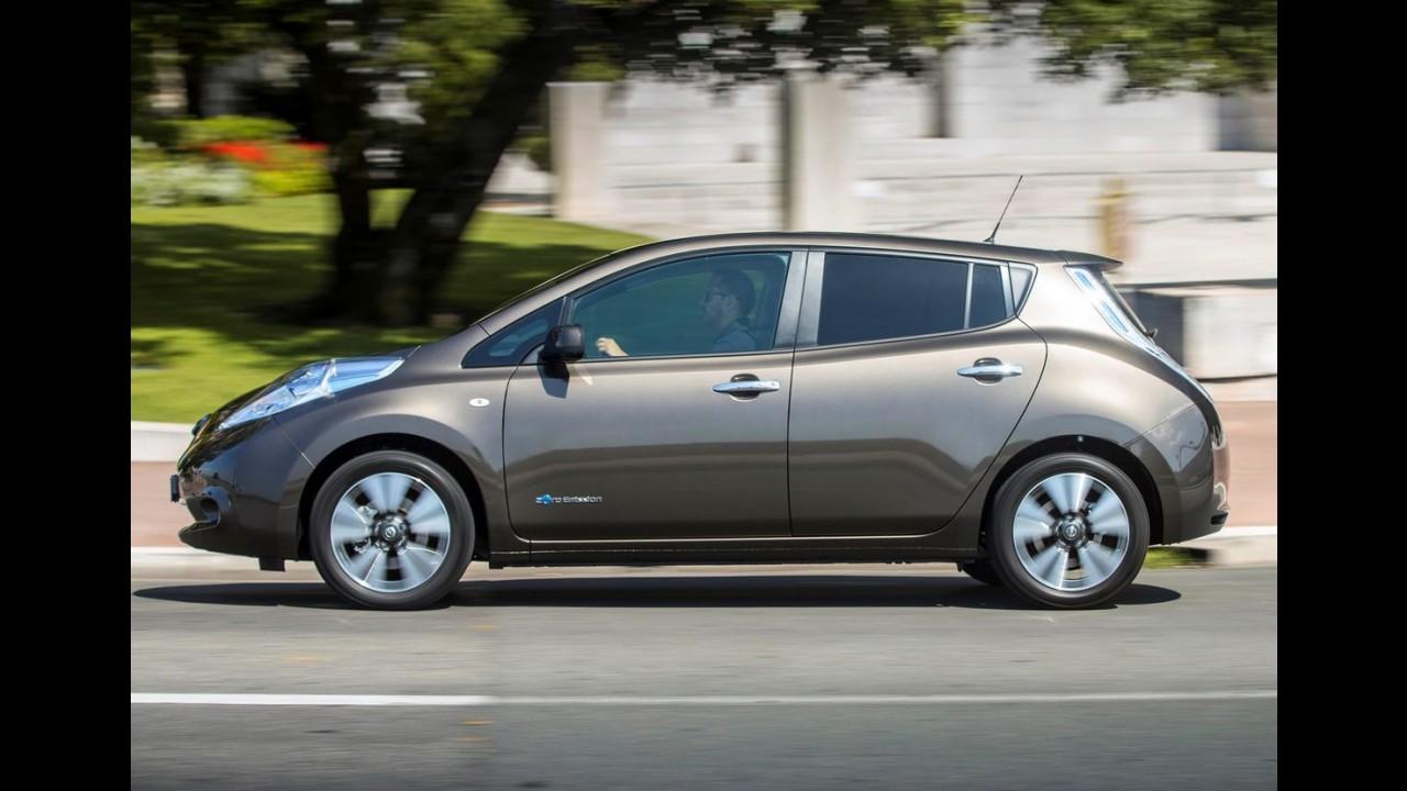 Nissan Leaf ganha nova bateria e autonomia vai a 250 km