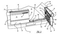 Ram two-way split tailgate patent drawing