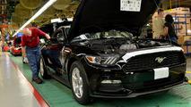 Linha de produção Ford - Fábrica