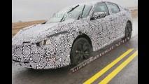 Flagra! Nova geração do Honda Civic se apronta para 2016