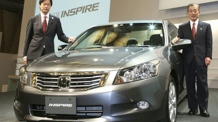 Honda Inspire Revealed (JA)
