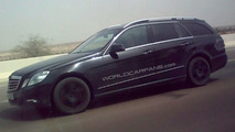 WCF Readers Catch 2010 Mercedes E-Class Wagon Almost Undisguised