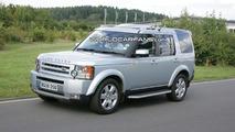 Land Rover Discovery (LR3) major facelift spy photos